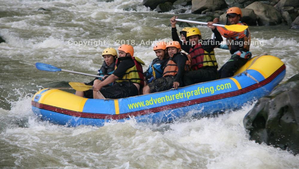 Arung Jeram Magelang Progo Rafting Paket Rafting Magelang Adventure Trip Rafting
